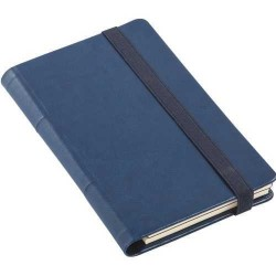 - 10x18 VIP NOTEBOOK NAVY