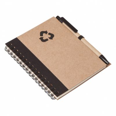 - 11,5x14,2 CRAFT NOTEBOOK BLACK