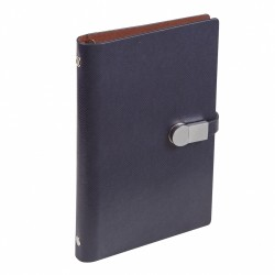 - 12x18 USB NOTEBOOK DIARY NAVY