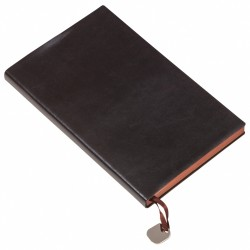 - 9,5X17,5 NOTEBOOK DIARY BLACK