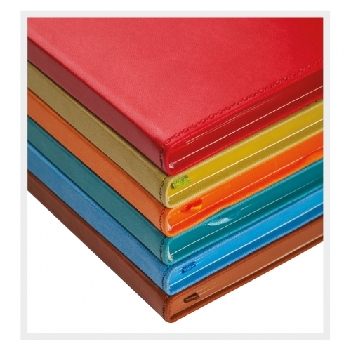 9x14 9x14 NOTEBOOK DIARY TABOCCO COLOR