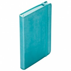 - 9x14 9x14 NOTEBOOK DIARY TURQUOISE BLUE