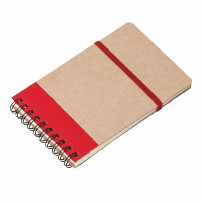 - 9x14 CRAFT NOTEBOOK RED