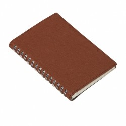 - 9x14 NOTEBOOK DIARY BROWN