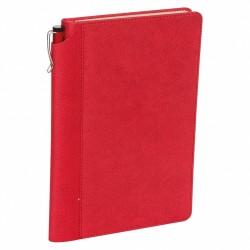 - 13x21 NOTEBOOK DIARY RED