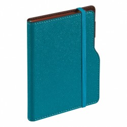 - HENNAED DATELESS DIARY TURQUOISE BLUE