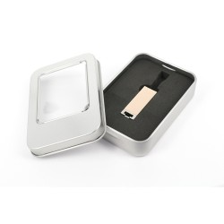 - SMALL USB GOLD (WITH BOX)