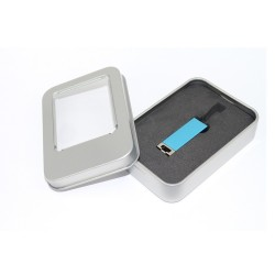 - SMALL USB BLUE (WITH BOX)